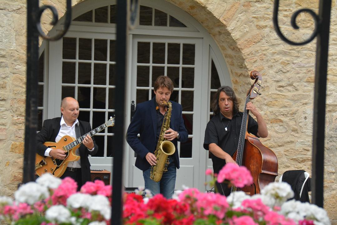 Steph Teyssier Trio Château de Santenay